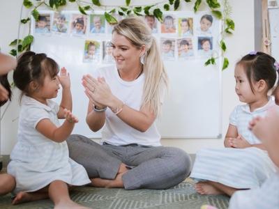 Kindergarten welcome time at Raintree International
